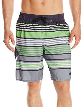 Adidas-Mens-Textured-Stripe-Volley-Swim-Trunk-apple