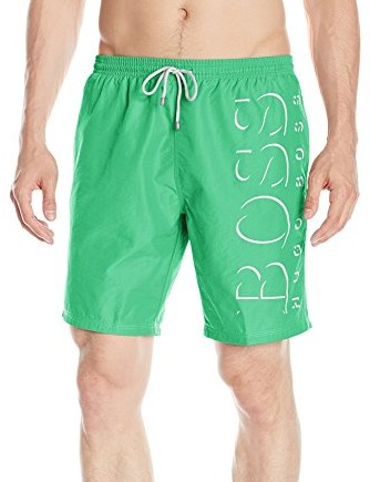 BOSS-HUGO-BOSS-Mens-Killfish-Swim-Trunk-green-white