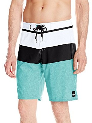 Quiksilver-Mens-Everyday-Blocked-20-Inch-Boardshort-pool-green