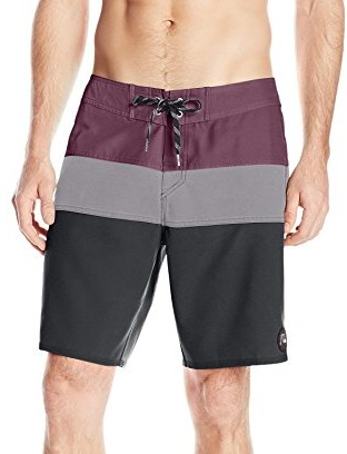 Quiksilver-Mens-Classic-Panel-19-Inch-Boardshort-black