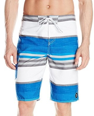 ONeill-Mens-Santa-Cruz-Plaid-Boardshort-blue-white