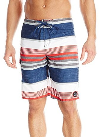 ONeill-Mens-Santa-Cruz-Plaid-Boardshort-navy-red
