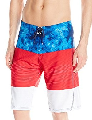 Burnside-Mens-Vortex-Stretch-Boardshort-blue