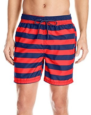 Kanu-Surf-Mens-Troy-Stripe-Swim-Trunks-navy-red