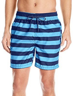 Kanu-Surf-Mens-Troy-Stripe-Swim-Trunks-navy-blue