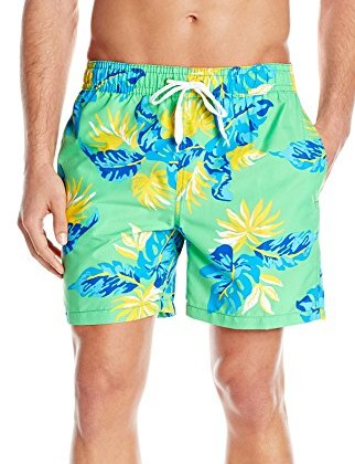 Kanu-Surf-Mens-Riviera-Swim-Trunks-green