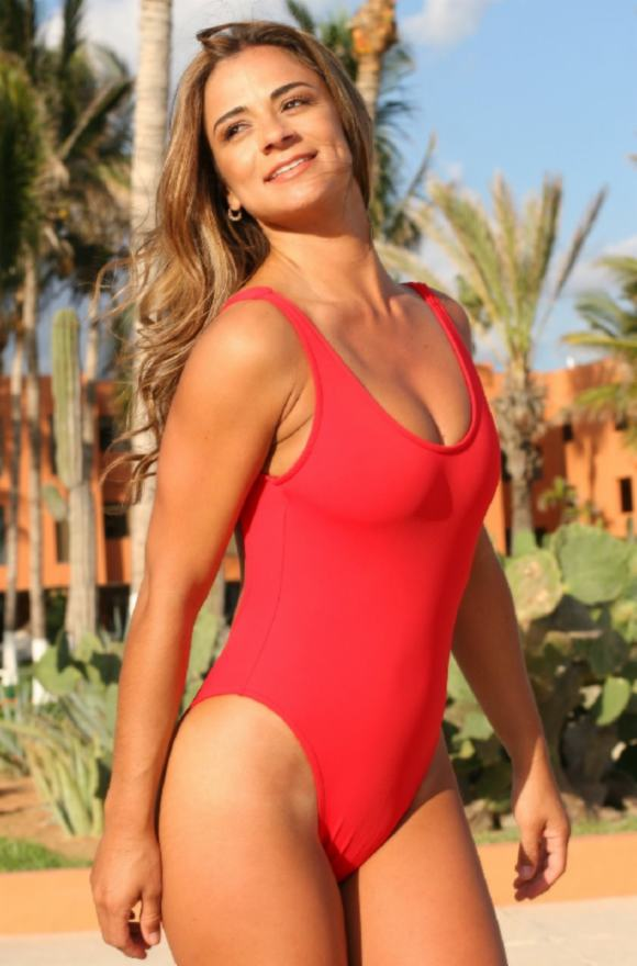 Double-Dip-Red-1-PC-UjENA-swimwear