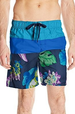 Kanu-Surf-Mens-Koloa-Panel-Swim-Trunk-navy