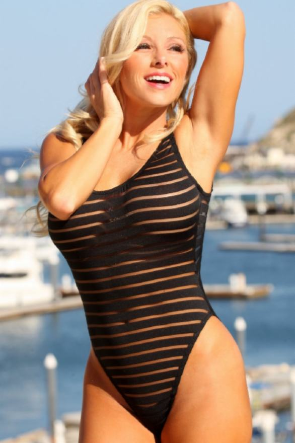 Sheer-Stripes-Double-Dip-1-PC-UjENA-swimwear
