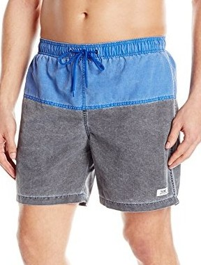 TRUNKS-Mens-San-O-6.5-Nylon-Pigment-Colorblock-blue-black