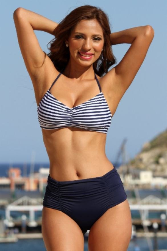 Vintage-Sailor-Stripes-Bikini-UjENA-swimwear