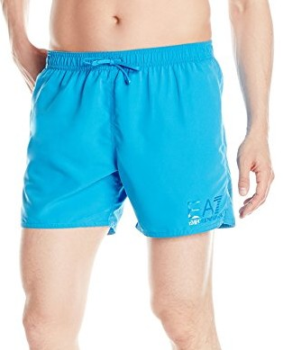 Emporio-Armani-Mens-Tonal-Eagle-Mid-Length-Swim-Shorts-royal-blue