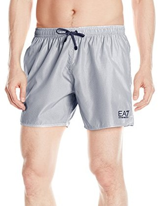 Emporio-Armani-Mens-Tight-Stripe-Mid-Length-Swim-Short-blue-white