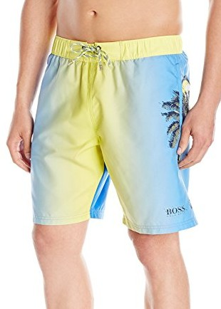 BOSS-HUGO-BOSS-Mens-Orinoco-Swim-Short-yellow-blue