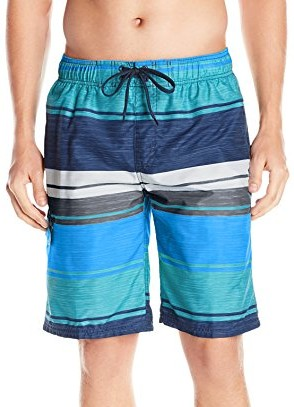 Kanu-Surf-Mens-Impact-Stripe-Swim-Trunk-navy