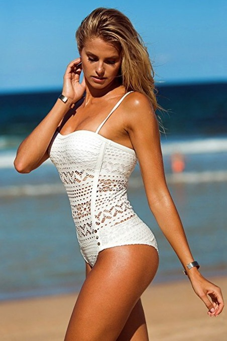 LookbookStore-Womens-Crochet-Lace-Halter-Straps-Swimsuit-white-swimwear