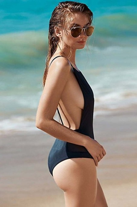 Zero-City-Women-Swimsuit-One-Piece-Sexy-Backless-Monokini-black-swimwear