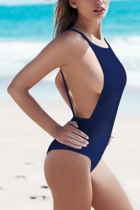 Zero-City-Women-Swimsuit-One-Piece-Sexy-Backless-Monokini-navy-blue-swimwear